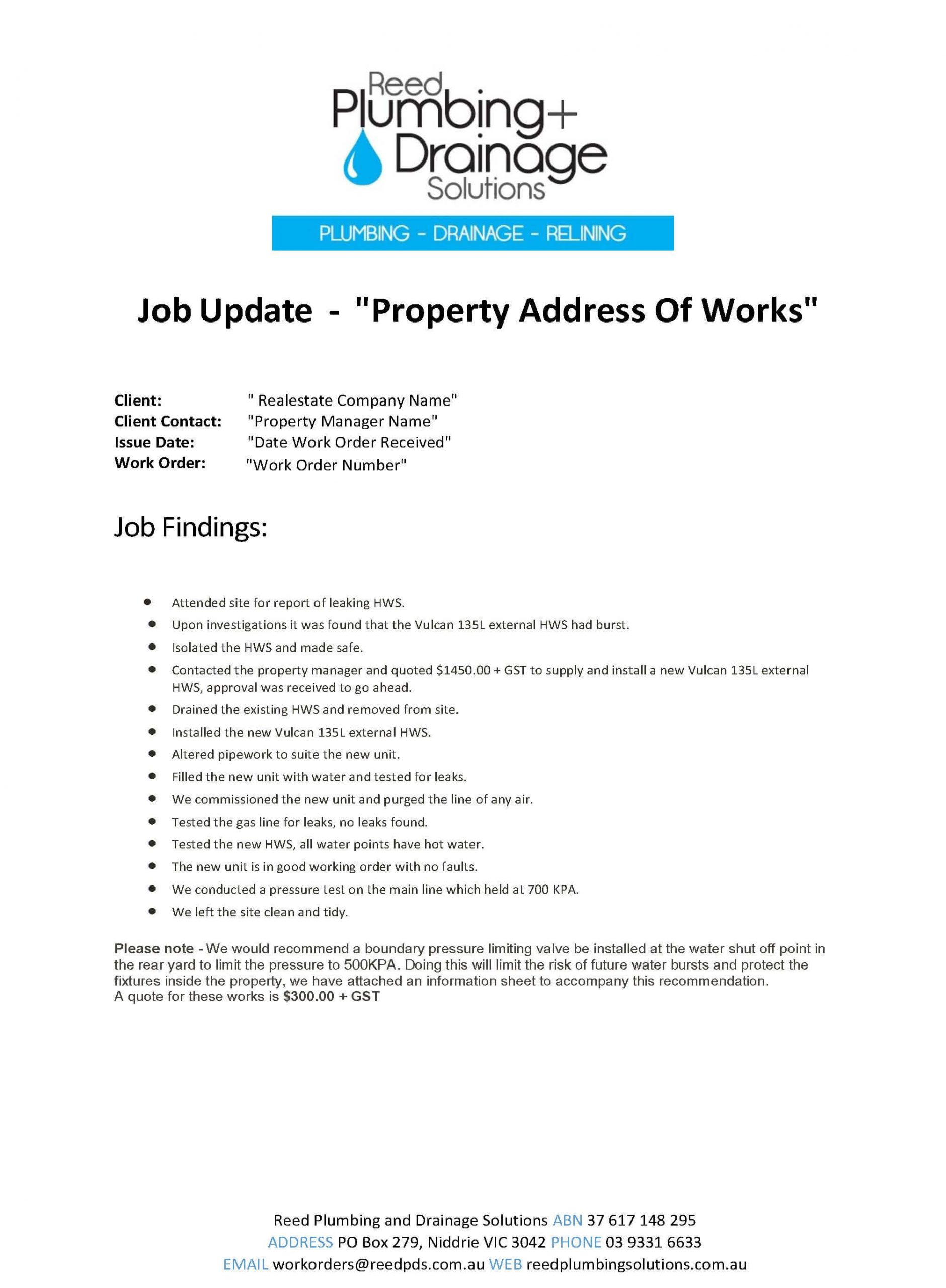 HWS Job Example Report_Page_1